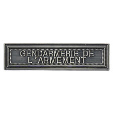 Agrafe pour médaille Ordonnance GENDARMERIE DE L'ARMEMENT