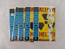 5 copies of WATCHMEN #3 VERY FINE/NM 1986