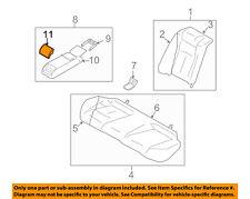 Infiniti NISSAN OEM 10-13 G37 Rear Seat-Cup Holder 887411NF0C
