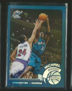 2002-03 Topps Chrome Michael Jordan Wizards #10 Refractor Rare Sp Mint Hot! JC
