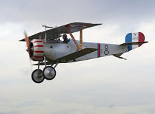 1/6 Scale French WW-I Nieuport 17 Biplane Plans and Templates 54ws