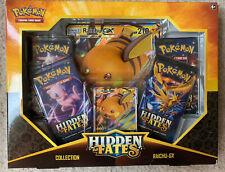 Pokemon Hidden Fates Raichu GX Box - NEW! SEALED!