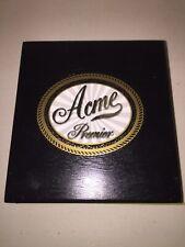 ACME Premier San Andreas 5x50 square black Wooden Cigar Box Humidor w/Flip Lid