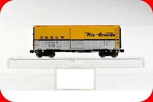 N Scale Denver Rio Grande Box Car, D&RGW 69535, INTERMOUNTAIN BLW - Knuckle Cplr
