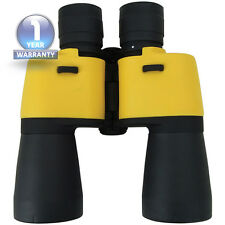 Binoculars 7x50 Mangnification Manual  Focus Waterproof Marine Yellow Binoculars