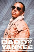 DADDY YANKEE ~ JACKET POSTER 24x36 Music Rap Hip-Hop NEW/ROLLED!