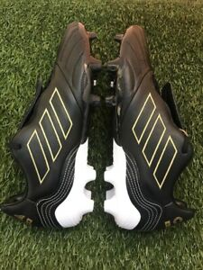 Adidas Copa kapitan . 2  FG Black gold soccer Cleats FW7267  Size men 8.5 Only