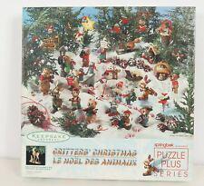 Critters' Christmas 500 Pc Springbok Keepsake Ornament Puzzle 1997