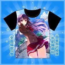 love Saekano: How to Raise a Boring Girlfriend Casual Top T-Shirt S-XXXL hot