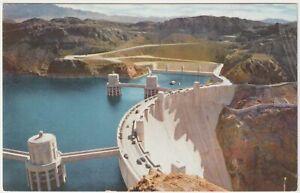 Hoover Dam, Boulder City, Nevada - Vintage Postcard