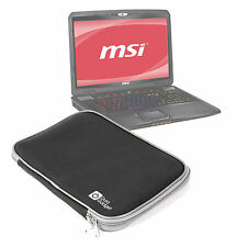 Black Impact-Resistant Neoprene Case/Pouch/Cover for MSI GE70 / GP70 / GS70