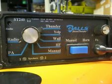 Galls St160 Street Thunder Siren Controller 14V Dc Microphone & cable Yelp wail