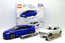 JAPAN TOMY TOMICA HONDA CIVIC TYPE R 1/64 HONDA CIVIC GL 1/57 DIECAST CAR SET