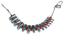 Fastener Screw Bolt Nut Thread Measure Gauge Size Checker Standard Sae Inch Wire