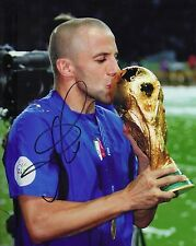 Alessandro Del Piero Signed 10X8 Photo ITALY 2006 ITALIA AFTAL COA (1295)