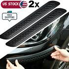 2x Car Bumper Corner Door Guard Cover Accessories Anti Scratch Protector Sticker