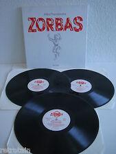 Mikis Theodorakis   Zorbas   3 LPs   Platinum 9040-3   LP & Cover: Very Good +