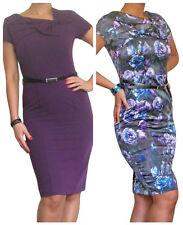 Rayon Wiggle, Pencil Business Dresses