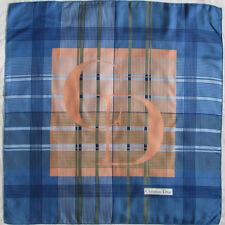 -Superbe Foulard  CHRISTIAN DIOR   100% soie  TBEG  vintage scarf  76 x 77 cm