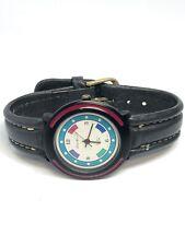 Eddie Bauer Ladies Quartz Watch With Leather Band