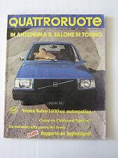 QUATTRORUOTE OTTOBRE 1976 / ANNO XXI / NUMERO 250  - LEGGI