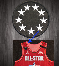 All Star KB Patch Kobe Bryant Lakers Basketball 2 Iron On NBA jersey 2020 24
