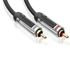 Profigold High Performance Stereo Audio Interconnect 0.5m