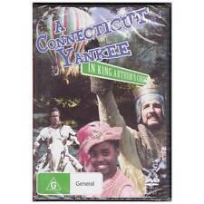 DVD A CONNECTICUT YANKEE IN KING ARTHUR'S COURT remake Twain Adventure R4 [BNS]