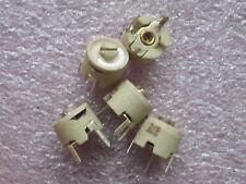 5 x Trimmkondensatoren,Trimmer Kondensator 2pF-6pF