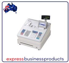 Sharp XE-A307 Raised Key Cash Register White + Logo Printing Receipts XEA307