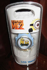 Despicable Me 2 Minion LCD Watch ❤Kids Children❤ Licensed Universal Studios NEW