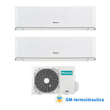 Climatizzatore Hisense Energy Dual Split 9+9 9000+9000 R-32 WiFi A++ 2AMW42U4RRA