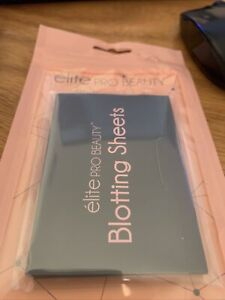 Blotting Sheets By Elite Pro Great Make Up Remover Only $1.00
