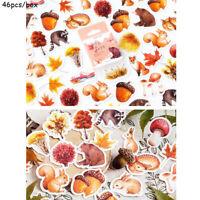 Aufkleber für Eichhörnchen Scrapbooking Papier Sticker Etiketten für Tagebuch