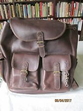 roots EDDIE BAUER EXEC. LIMITED EDITION HORWEEN LEATHER  BACKPACK RUKSAK