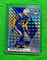 DERWIN JAMES MOSAIC SILVER HYPER PRIZM CARD CHARGES 2020 PANINI MOSAIC PRIZM