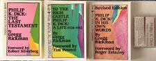 Philip K Dick Gregg Rickman Biography Interview Audio Bundle 1 Sci-Fi VALIS Ubik