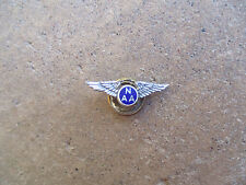 vintage NAA North American Aviation sterling employee award pilot wings pin
