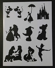 "Disney Mary Poppins Duck Peter Pan + 8.5"" x 11"" Custom Stencil FAST FREE SHIP"