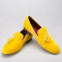 Mens Tassel Loafers Dress Formal Shoes Oxford Suede Wedding Party Casual 6 Color