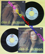 LP 45 7'' DEE D.JACKSON Moonlight starlight 1984 italy ROS RRNP 69 no cd *mc dvd