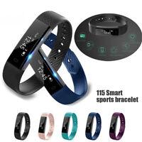 ID115 Bluetooth Smart Watch Wristband Bracelet Pedometer Sport Fitness TrackRSDE