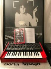 Martin Hannett Joy Division Producer his Red Transcendent 2000 synth in case