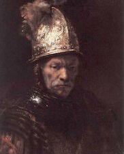 Art Oil painting Rembrandt - Man in a Golden Helmet canvas