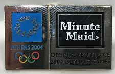 MINUTE MAID OFFICIAL FRUIT JUICE ATHENS 2004 OLYMPIC GAMES PIN COLLECT #899