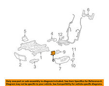 GM OEM Seat Track-Seat Switch 12450263