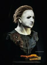 HALLOWEEN 5 Myers LIFE SIZE BUST with MASK ! Made by Jason Sideshow Leatherface