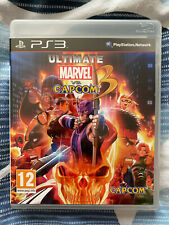 Ultimate Marvel vs. Capcom 3 (Sony PlayStation 3, 2011) PS3 Fighting Game
