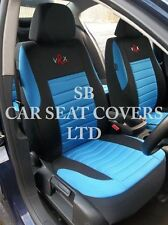 i - TO FIT A NISSAN NAVARA CAR, SEAT COVERS, BLUE VRX FULL SET