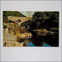 The Bridge Cenarth Wales 1977 Postcard (P402)